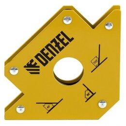 Аксессуары и комплектующие - Фиксатор магнитный для сварочных работ, усилие 50 Lb Denzel, 0