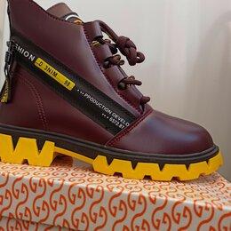 Ботинки - Ботинки для девочек демисезонные  , 0