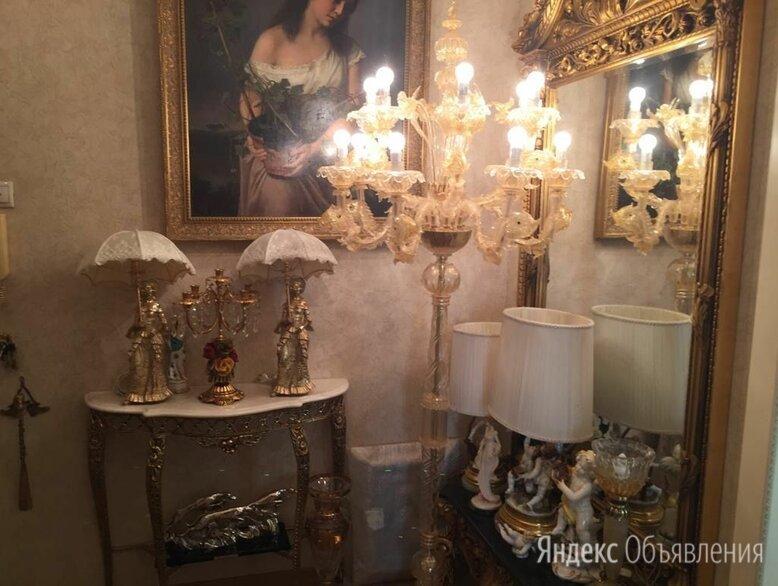 Торшер / напольный канделябр, золото 24К, Мурано по цене 980000₽ - Торшеры и напольные светильники, фото 0