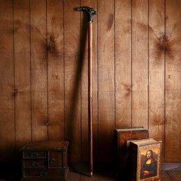 """Зонты и трости - Трость дерево, латунь """"Горный козёл"""" 95х13х3,5 см, 0"""