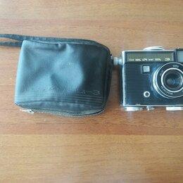 Пленочные фотоаппараты - Фотоаппарат плёночный Чайка 3. СССР, 0