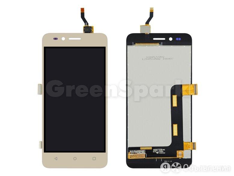 Дисплей для Huawei Y3 II 3G (LUA-U22/LUA-U03/LUA-U23) + тачскрин (золото) по цене 520₽ - Дисплеи и тачскрины, фото 0
