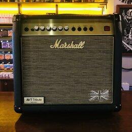 Аксессуары и комплектующие - Комбоусилитель для электрогитары Marshall AVT20X, 0
