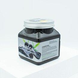 Скрабы и пилинги - Скраб для тела с бамбуковым углем Wokali Sherbet Body Scrub Charcoal, 0