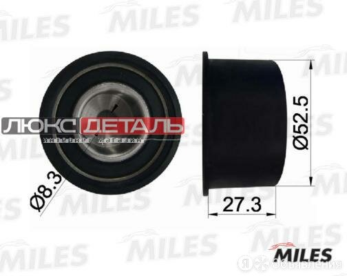 MILES AG02020 Ролик ремня ГРМ OPEL VECTRA A/B ASTRA F/CHEVROLET LACETTI/REZZO... по цене 364₽ - Двигатель и топливная система , фото 0