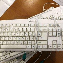 Клавиатуры - Клавиатура белая USB, 0
