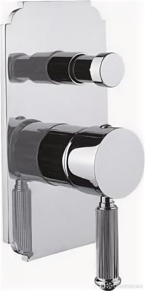 Cezares Встраиваемый смеситель с переключателем Cezares OLIMP-VDIM-01-L по цене 23000₽ - Смесители, фото 0