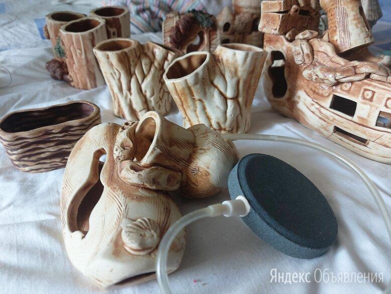 Керамические изделия для аквариума по цене 650₽ - Декорации для аквариумов и террариумов, фото 0