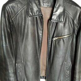 Куртки - Куртка CADAOBAO кожаная р-р 52, 0
