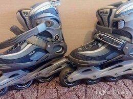 Роликовые коньки - Коньки роликовые FILA 42.5 размер, 0