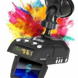Видеорегистраторы - Видеорегистратор с радар-детектором subini grd h9, gps, 0