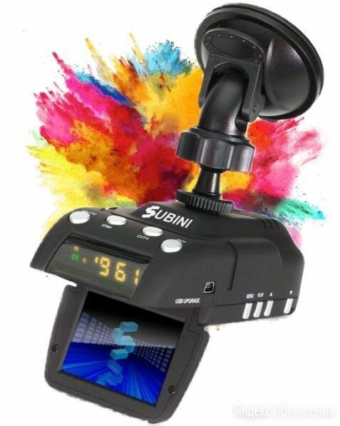 Видеорегистратор с радар-детектором subini grd h9, gps по цене 10000₽ - Видеорегистраторы, фото 0