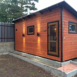 Готовые строения - Каркасно-щитовой дом 5*6,5 м, 0