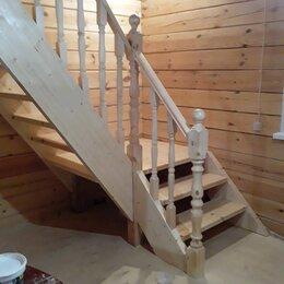 Дизайн, изготовление и реставрация товаров - Изготовление лестниц из массива дерева, 0