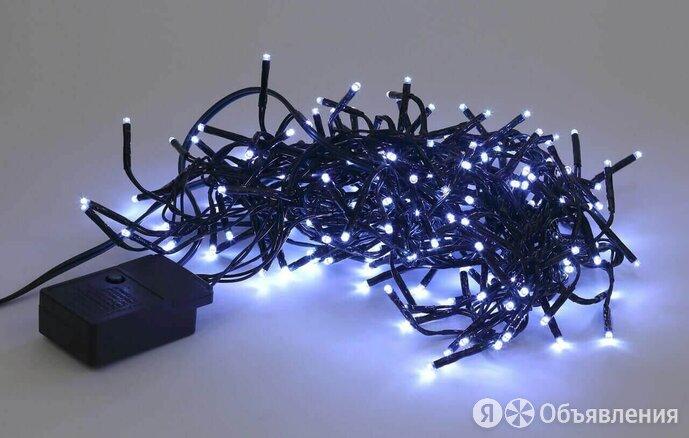 Гирлянда  3,9м мишура холодный свет Эра по цене 1200₽ - Интерьерная подсветка, фото 0