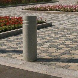 Тротуарная плитка, бордюр - Столбики гранитные, 0