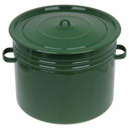 Кастрюли и ковши - Сибирские товары Бак 40 л, цвет зелёный, 0