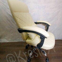 Компьютерные кресла - Кресло руководителя из экокожи. Новое, 0