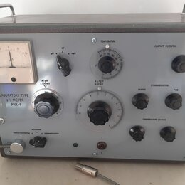 Лабораторное и испытательное оборудование - РН- метр РНК-1 Чехословакия, 0