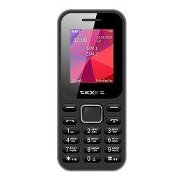 Проводные телефоны - Телефон teXet TM-122 (черный), 0