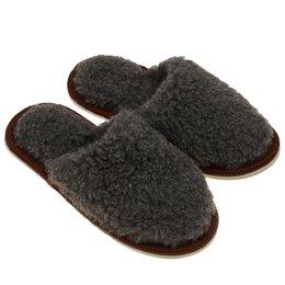 Домашняя обувь - Тапочки мужские, цвет серый, размер 42-45, 0