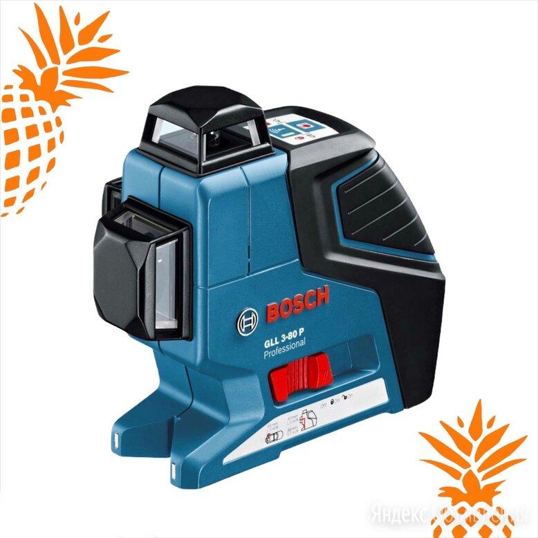 Лазерный уровень BOSCH GLL 3-80 Professional  по цене 16000₽ - Измерительные инструменты и приборы, фото 0