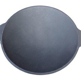 Сковороды и сотейники - Чугунная сковорода садж 45 см, 0