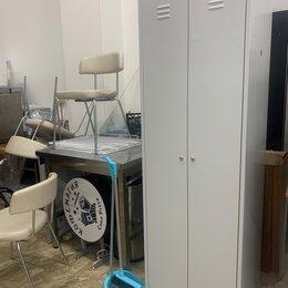 Мебель для учреждений - Шкаф металлический 2ух секционный. , 0