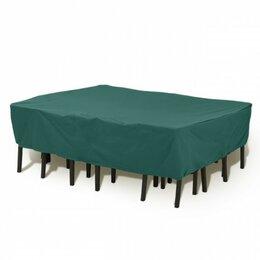 Аксессуары для садовой мебели - Чехол на набор садовой мебели (прямоугольный) ПЭ 230х90х75см Blumen Haus, 0