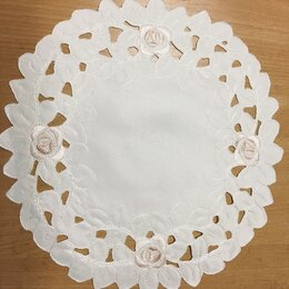 Скатерти и салфетки - Салфетки с вышивкой, набор 6шт, 0
