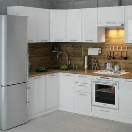 """Мебель для кухни - Кухня """"Ксения"""" 3,8м угловая, белый глянец, 0"""