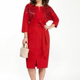 Платья - Платье 2056 TEZA терракот Модель: 2056, 0