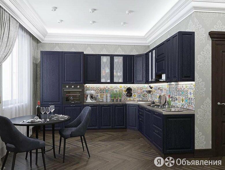 Угловая кухня Ницца-04 Дуб синий по цене 113029₽ - Мебель для кухни, фото 0