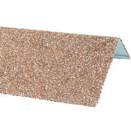 Окна - Наличник оконный металлический HAUBERK Античный 50*100*1250мм, 0