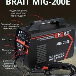 Сварочные аппараты - Полуавтомат инверторный сварочный brait MIG-200E, 0