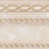 Керамическая плитка - Керамическая плитка Cersanit Alicante Бордюр бежевый A-AC1L011\D, 0