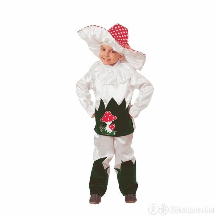 Карнавальный костюм 'Грибок', текстиль, (куртка, брюки, шляпа), размер 28, ро... по цене 1842₽ - Карнавальные и театральные костюмы, фото 0