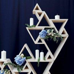 Украшения и бутафория - Треугольные декорации для свадьбы, 0