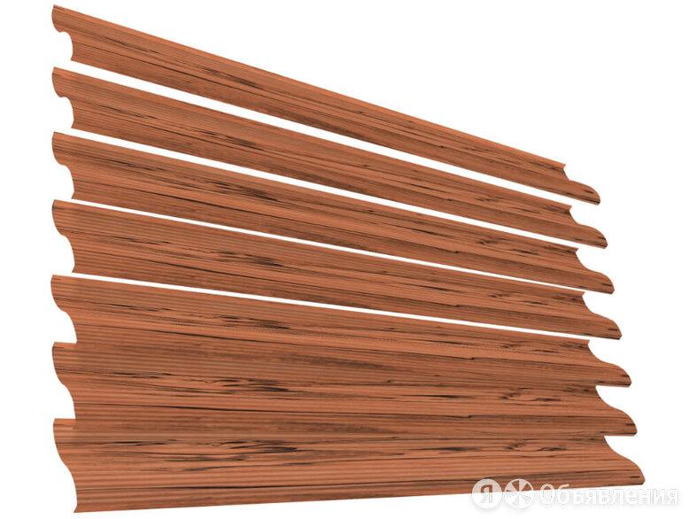 Ламель Еврожалюзи Printech под дерево Кипарис по цене 214₽ - Заборы, ворота и элементы, фото 0
