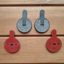 Тормоза - Колодки для дисковых тормозов велосипеда, 0