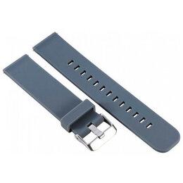 Ремешки для умных часов - Ремешок силиконовый Huawei Watch GT Series Strap 20мм (cyan), 0