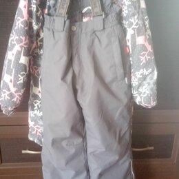 Комбинезоны - Размер 116+6, польто и брюки на резинке., 0