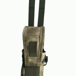 Военные вещи - Подсумок со съемным клапаном, для двух магазинов АК, 0