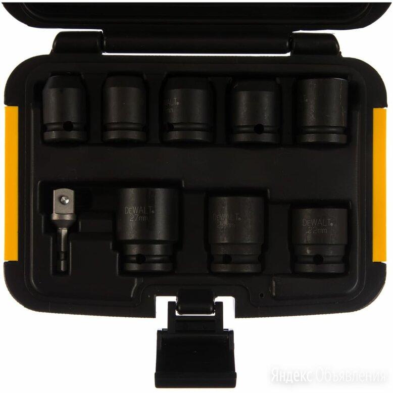 Набор торцевых ключей Dewalt DT7507 по цене 3469₽ - Уголки, кронштейны, держатели, фото 0