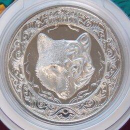 Монеты - Казахстан 100 тенге 2018 BU Волк Кокбори буклет арт. 13191, 0