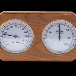 Термометры и таймеры - Термогигрометр овал, 0