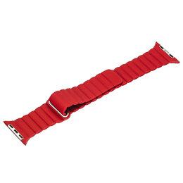 Ремешки для умных часов - Ремешок для Apple Watch Magnetic Loop 42/44mm красный, 0