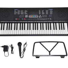 Клавишные инструменты - Пианино детское синтезатор с микрофоном купить , 0