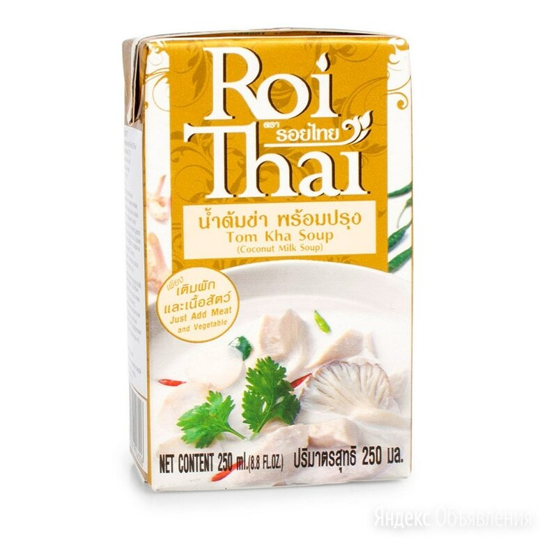 Суп Roi Thai Том Ка, 250 мл по цене 180₽ - Продукты, фото 0