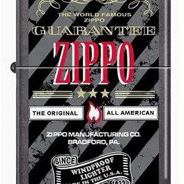 Пепельницы и зажигалки - Зажигалка Zippo 28378 World Famous Guarantee, 0